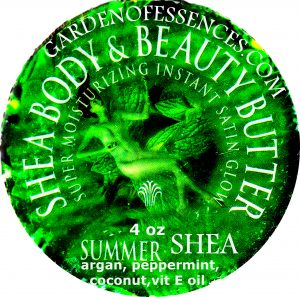 Shea Summer Mint Body Butter