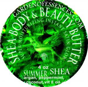 Shea Summer Mint Body Butter