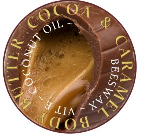 cocoa & caramel body butter