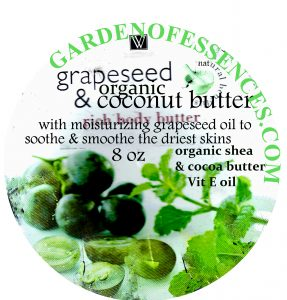 grapeseed body butter