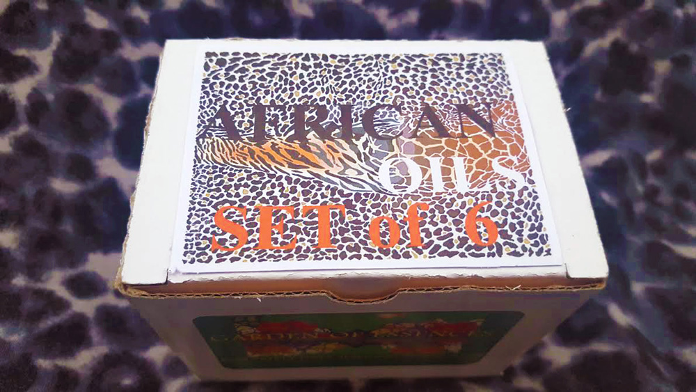 AFRICAN OIL GIFT SET BOX