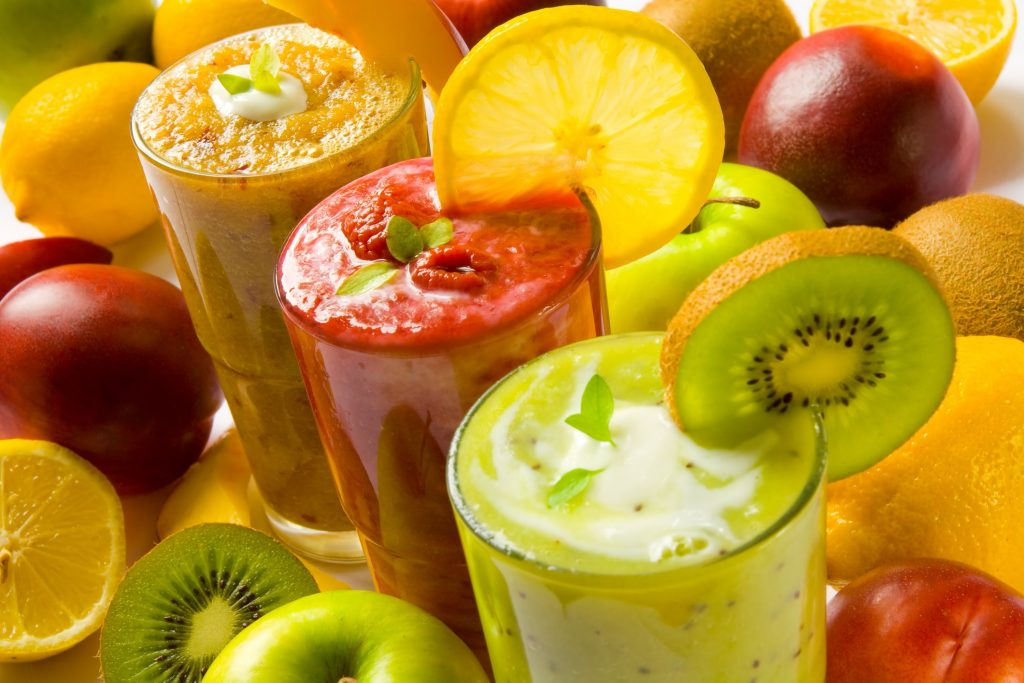 detox with smoothies