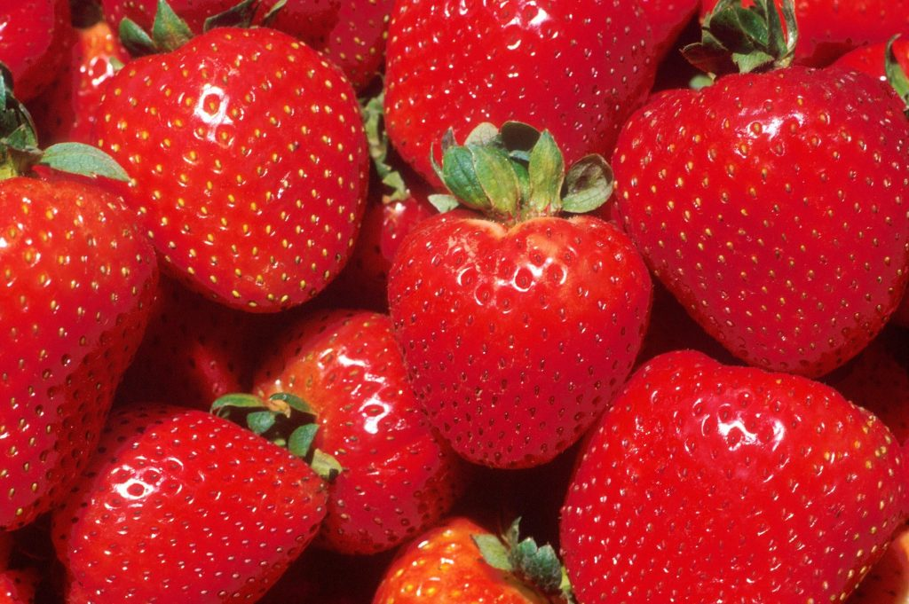 strawberries have the highest pesticides